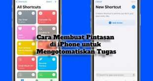 Gambar Cara Membuat Pintasan di iPhone untuk Mengotomatiskan Tugas