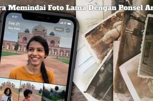 Gambar Cara Memindai Foto Lama Dengan Ponsel Anda