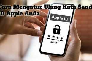 Gambar Cara Mengatur Ulang Kata Sandi ID Apple Anda
