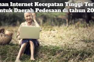 Gambar Pilihan Internet Kecepatan Tinggi Terbaik untuk Daerah Pedesaan di tahun 2021